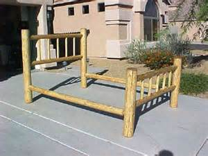 Queen Bed Rails For Headboard And Footboard by Lodge Pole Wood Poles Pine Poles Lodgepole Wooden Poles