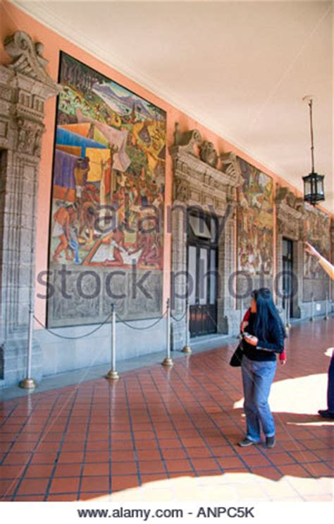murals in mexico city mural diego rivera national palace mexico city federal district stock photo royalty free