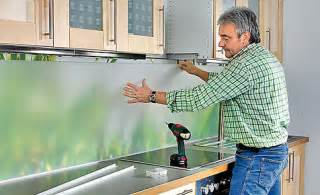 fliesenspiegel küche glas küchenrückwand küche bad selbst de