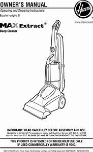 Hoover Fh50220 Max Extract 60 Pressure Pro Carpet Deep