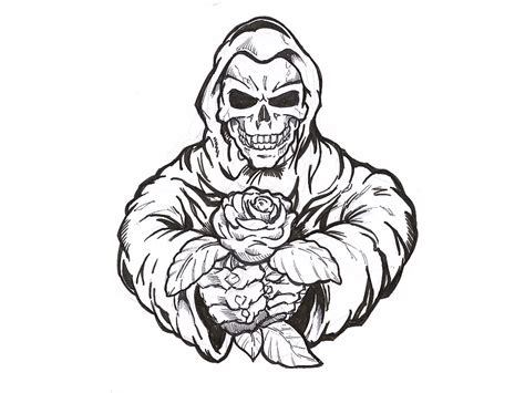 Mexican Skull Coloring Pages Eskayalitim
