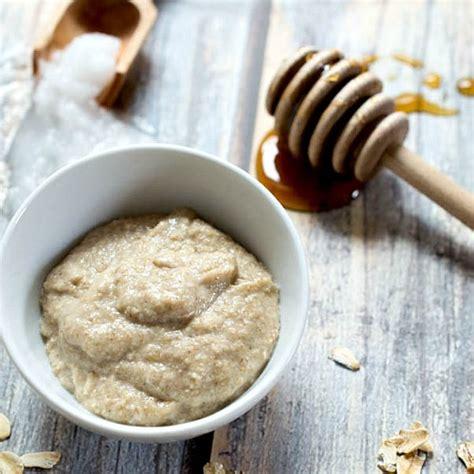 honey oatmeal homemade face mask easy diy beauty prodcut