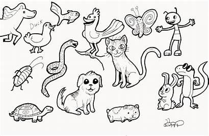 Animals Lots Deviantart Drawings