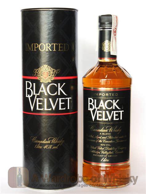 Buy Black Velvet Blended Whisky - Black Velvet   Whisky ...