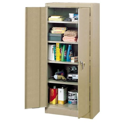 edsal economical storage cabinets edsal 6600tn steel storage cabinet 4 adjustable