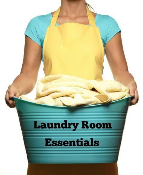 Laundry Room Essentials  A Grateful Life