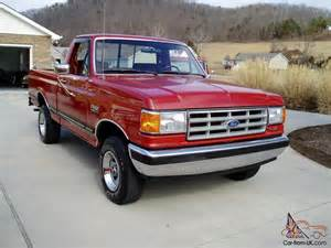 used ford f 150 trucks for sale 1987 ford f 150 xlt lariat 4x4 1 owner 79k actual