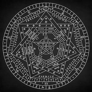Sigillum Dei Aemeth  Magical  Sigil  Diagram  Pentagram  Pentacle  Circle  Magic  Occult  Witch