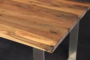 Tischplatte Massivholz Baumkante : tischplatte massivholz kaukasischer nussbaum rustikal ohne splint dl 40 2200 1200 ~ Indierocktalk.com Haus und Dekorationen