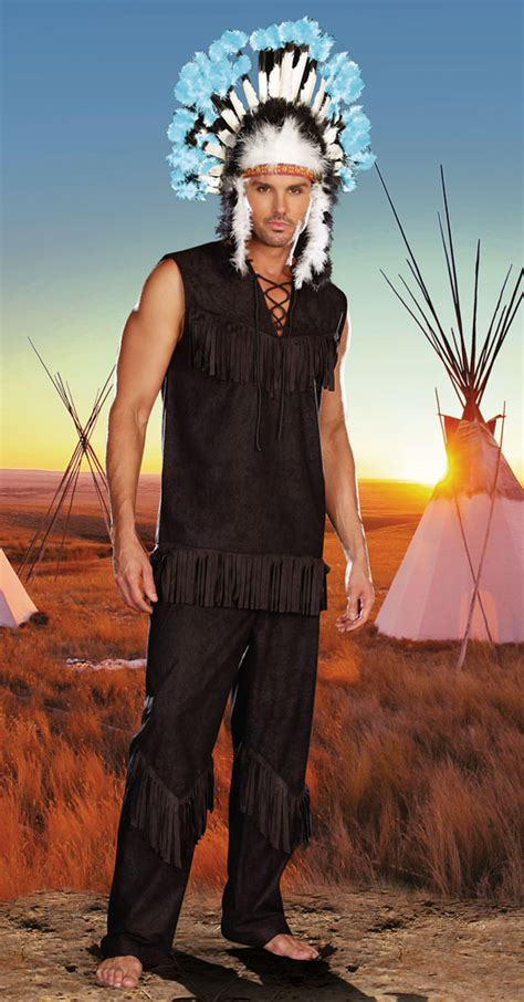 native american man costume