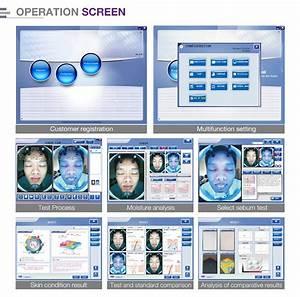 New Design Portable Skin Scanner Skin Analyzer Machine