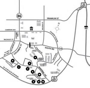 s basketball parking map rams club
