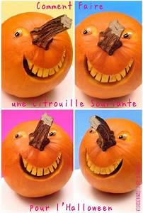 Comment Faire Une Citrouille Pour Halloween : 1 sculpture de fruit et l gume comment faire une citrouille souriante pour d co pinterest ~ Voncanada.com Idées de Décoration