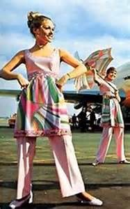 Braniff Airlines Flight Attendants