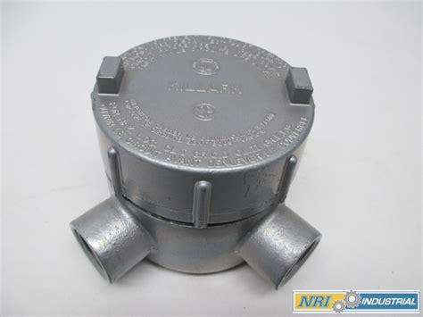 Killark Geclt-2 Outlet Body Style Aluminum 3/4in Conduit