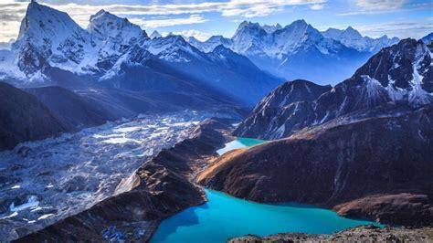 himalaya landscape gokyo ri sagarmatha national park