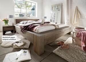 Bett Mit Soundsystem : bett massives doppelbett mit wuchsrissen eiche balkeneiche r ucher l rustikal kaufen bei saku ~ Sanjose-hotels-ca.com Haus und Dekorationen