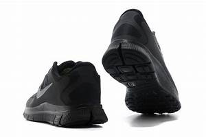 Nike Free 5.0 Mens All Black Running Shoes Clearance Sale