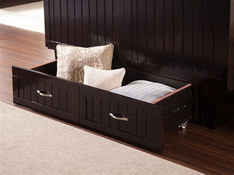 nantucket murphy bed chest  charging station