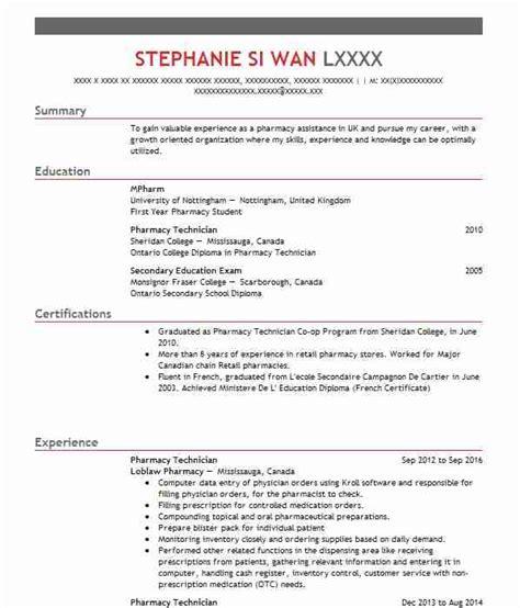 Pharmacy Manager Cv by 10 Cv Pharmacy Assistant Resume Layout