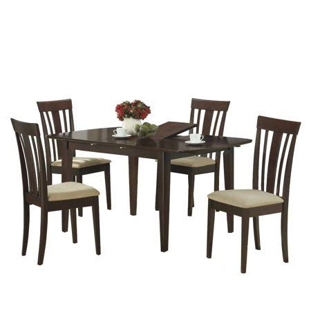 36 X 48 Dining Table With Leaf by Monarch Dining Table 36 Quot X 48 Quot X 60 Quot Cappuccino With A