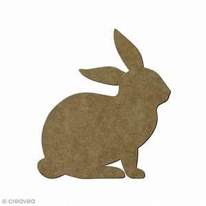 Animaux En Bois Décoration : lapin en bois 11 x 11 cm animaux de la ferme d corer creavea ~ Teatrodelosmanantiales.com Idées de Décoration