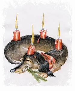 Bodenständer Für Adventskranz : feiertagskarten adventskranz f r hunde ~ Indierocktalk.com Haus und Dekorationen