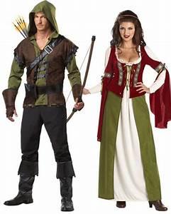 Déguisement Couple Célèbre : couple robin des bois d guisement en couple le ~ Melissatoandfro.com Idées de Décoration