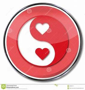 Bedeutung Yin Und Yang : zeichen yin und yang der liebe stockbild bild 48580757 ~ Frokenaadalensverden.com Haus und Dekorationen