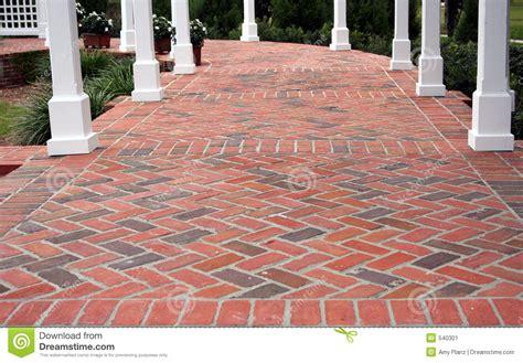 patio ladrillo imagen de archivo imagen 540301