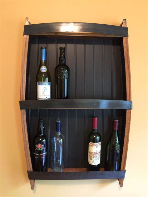 wine rack rustic handmade wall hanging wine rack