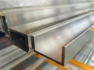 Profilé Alu En U : aluminium u channel profile various sizes 2000mm length ebay ~ Farleysfitness.com Idées de Décoration