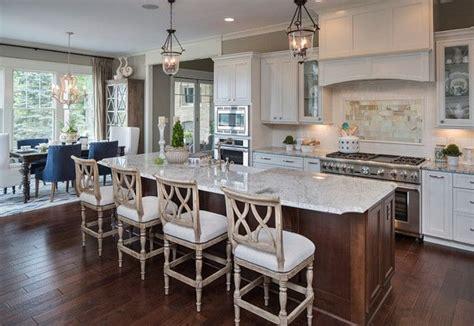 open kitchen plans with island kitchen white kitchen with open floor plan the island 7195
