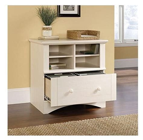 computer printer stand filing cabinet wooden antiqued