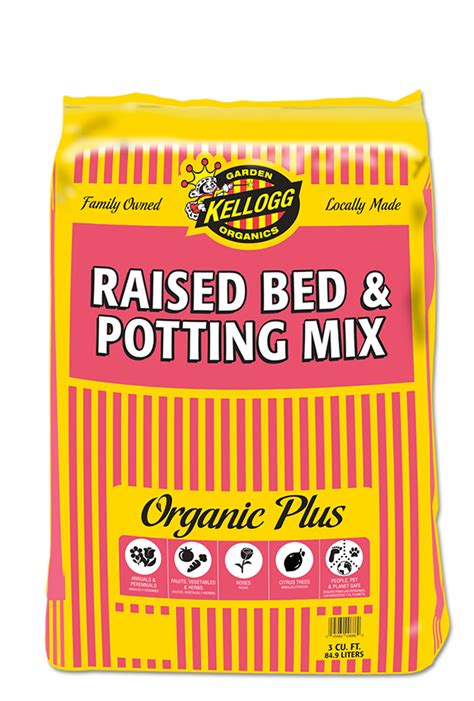 Raised Bed Soil Calculator by Raised Bed Amp Potting Mix Kellogg Garden Products