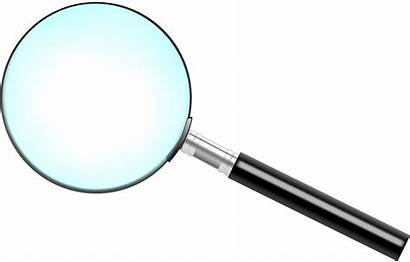 Magnifying Glass Transparent Simple Clipart Kaca Pembesar