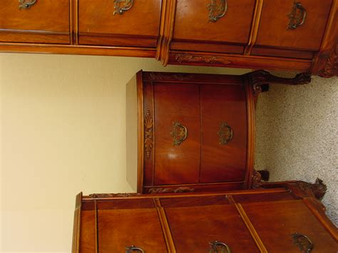 Chippendale Revival Circa 1940 5 Pc Bedroom Set For Sale