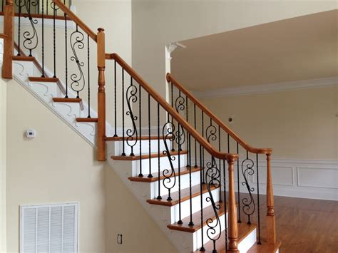 home interior railings wrought iron stair railings for creating awesome looking interior homesfeed