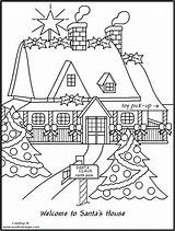 Pole Coloring North Pages Christmas Drawing Printable Workshop Colouring Santas Getcolorings Houses Cool Xmas Getdrawings Azcoloring Popular sketch template
