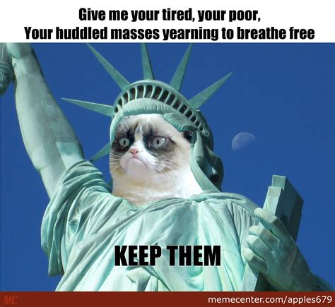 Angry Cat Meme No - grumpy cat says no by apples679 meme center