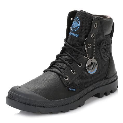 Palladium Mens Boots Black Pampa Sport Cuff Premium