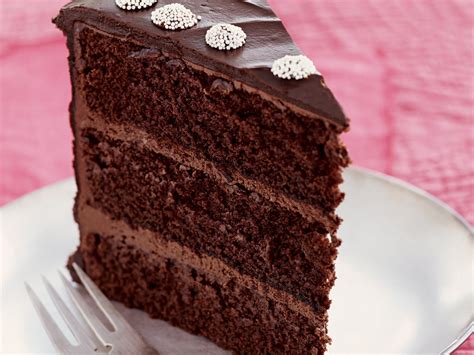 chocolate layer cake  peppermint ganache frosting