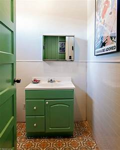 salle de bain retro 50 idees deco interessantes et With ou trouver meuble salle de bain