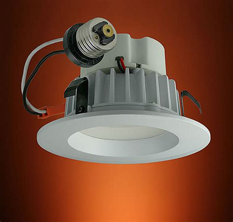 4 led light bulbs led recessed ceiling 4 quot dimmable can lights provide the