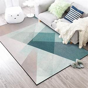 Home Style Tapete : nordic simple style large carpets living room bedroom tapete geometric printed home decor carpet ~ A.2002-acura-tl-radio.info Haus und Dekorationen