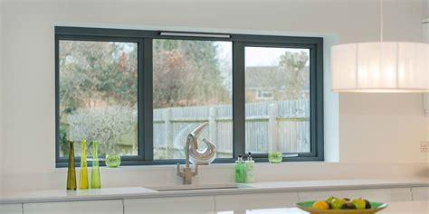 grey bi folding doors aluminium windows bi folding doors   star windows worcestershire