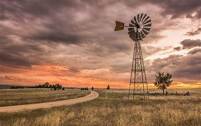 Country Windmill Landscape Australia Wallpapers South Wales