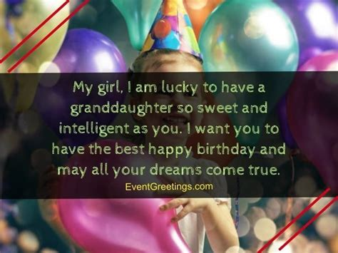 Another year has been added to your life. 55 Lovely Birthday Wishes for Granddaughter - Greetings ...