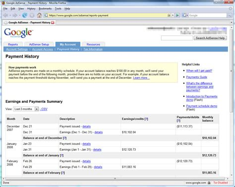 Reading Income (report) Google Adsense|netter Kingdom