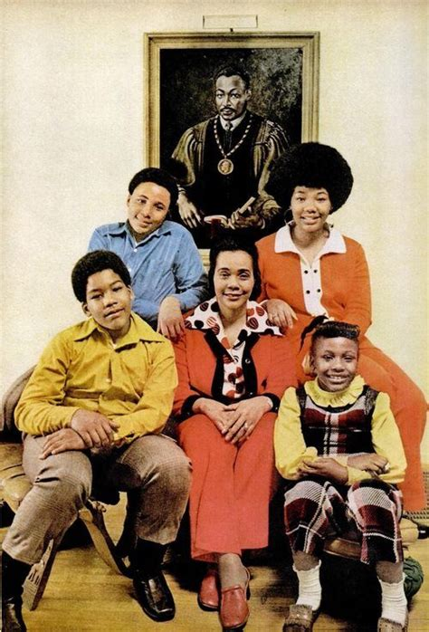 Martin Luther and Coretta Scott King Family